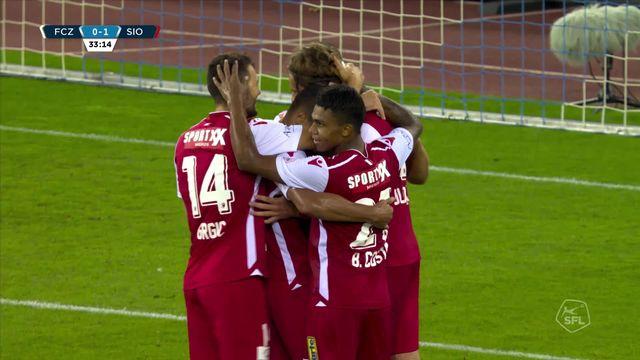 30e journée: Zurich - Sion (0-2): résumé de la rencontre [RTS]