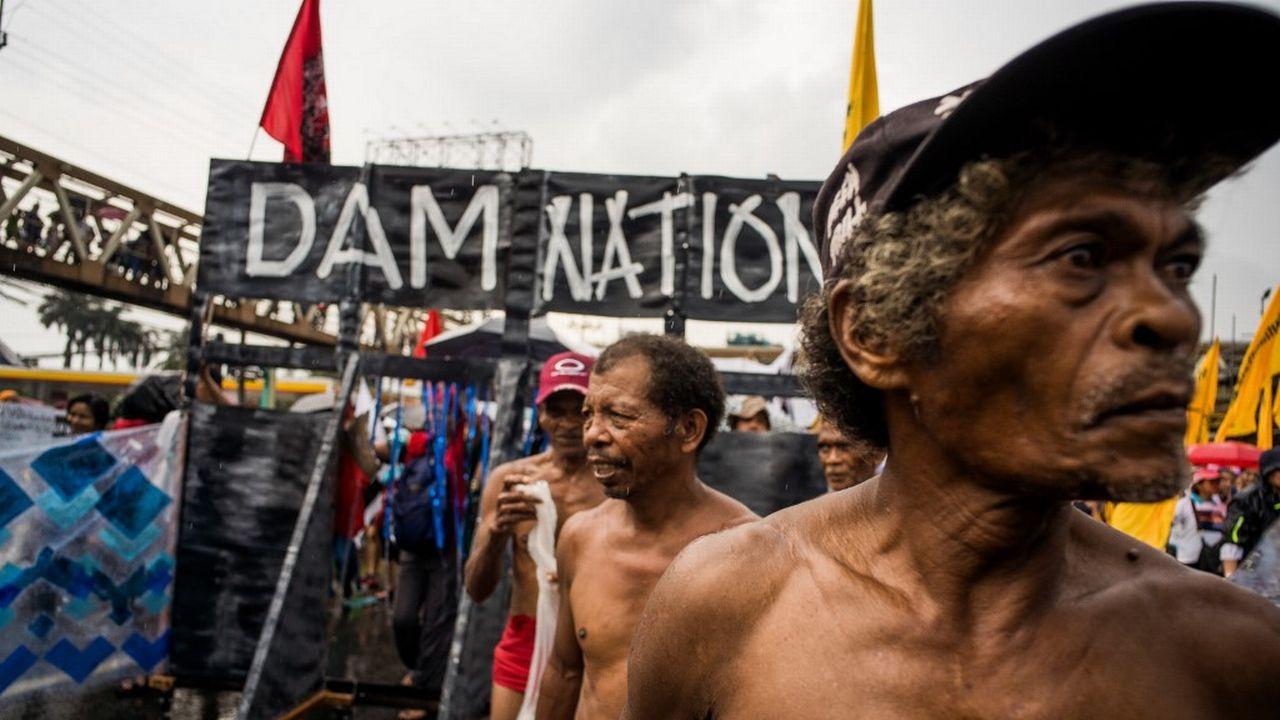 Les représentants des peuples autochtones, ici aux Philippines, subissent un risque de représailles. [Martin San Diego - AFP]