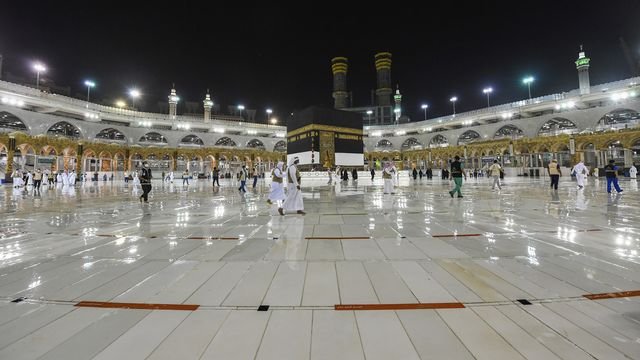 Le pèlerinage musulman de La Mecque débute mercredi dans des conditions particulières. [Saudi Media Ministry - Keystone]