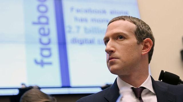 Mark Zuckerberg a déjà dû s'expliquer plusieurs fois devant des parlementaires américains (ici, en octobre 2019). [Erin Scott - Reuters]