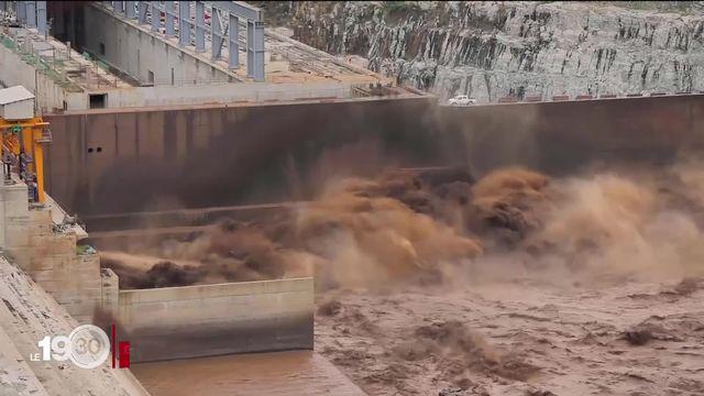 Fierté de l'Ethiopie, un nouveau barrage sur le Nil irrite l'Egypte. [RTS]