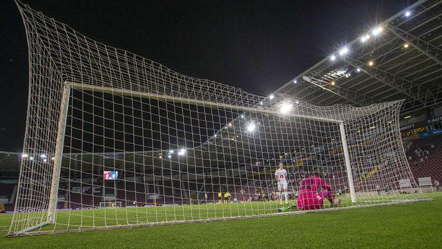 Le foot suisse reprendra ses droits le 12 septembre. [Salvatore Di Nolfi - Keystone]