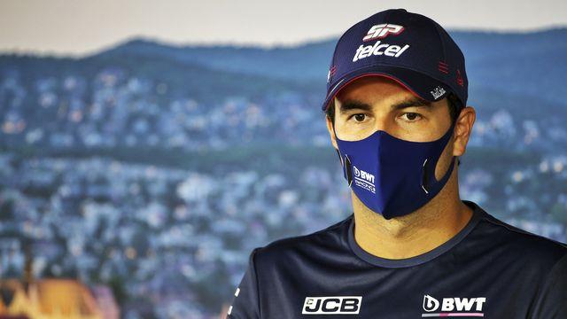 Le pilote mexicain est forfait pour le prochain GP. [AT Pool FIA - Keystone]