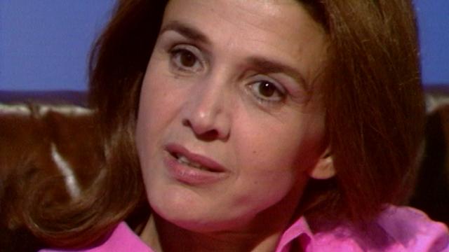 Gisèle Halimi en 1973. [RTS]
