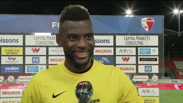 35e journée, Sion - Young Boys (0-1): Jean-Pierre Nsamé réagit au titre de champion de Suisse [RTS]
