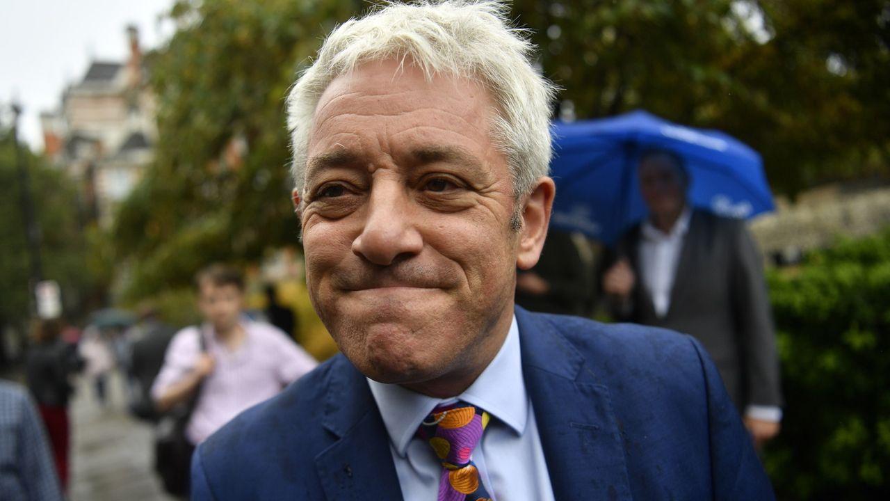 L'ancien président de la Chambre des Communes John Bercow a marqué les esprits avec des cravates aux couleurs criardes et des ordres tonitruants en pleine séance. [Neil Hall - Keystone]