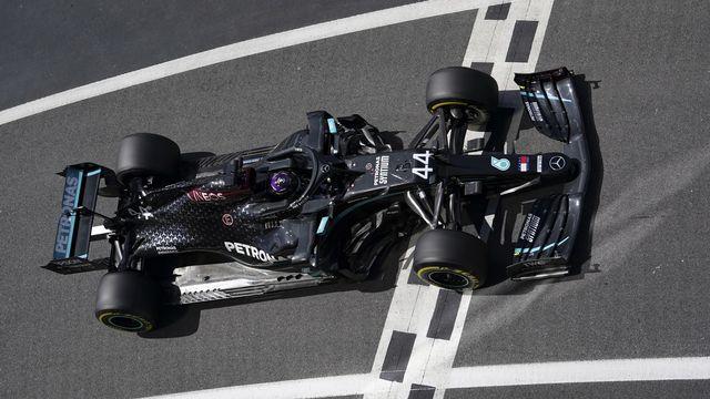 Lewis Hamilton continue sa marche en avant. [Will Oliver - Keystone]