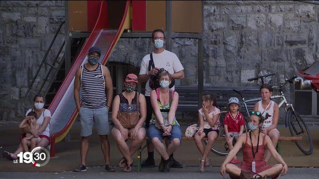 À Genève, une fête nationale morcelée [RTS]