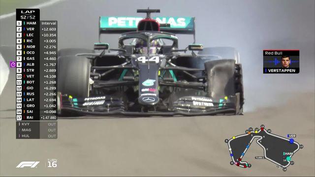 GP de Grande-Bretagne (#4): Hamilton (GBR) s'impose malgré un pneu crevé devant Verstappen (NED) et Leclerc (MON) [RTS]