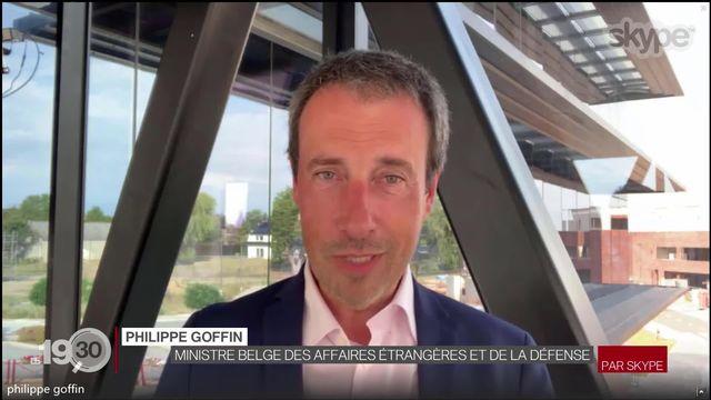 Cantons lémaniques sur liste rouge: les explications du ministre belge Philippe Goffin [RTS]