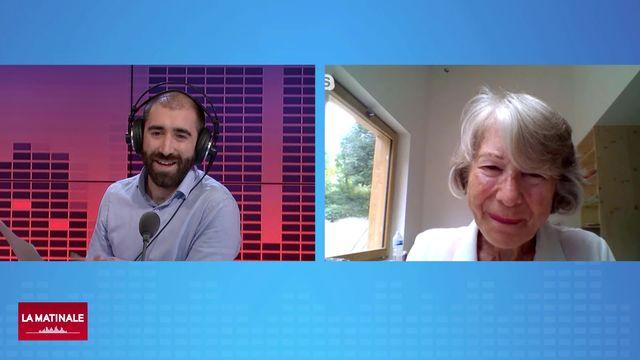L'invitée de La Matinale (vidéo) - Anne Soupa, théologienne et bibliste [RTS]