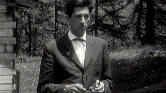 L'écrivain suisse Walter Matthias Diggelmann en 1963. [RTS]