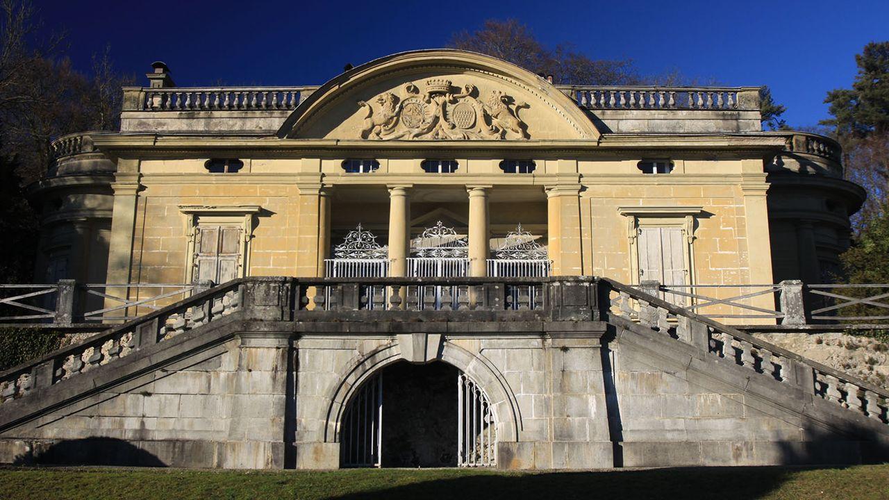 Le château de La Poya, à Fribourg, est une propriété privée. [WWHenderson20 - CC-BY-SA]