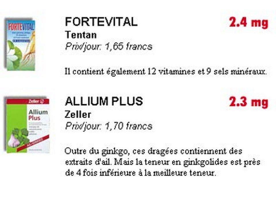 2. Fortevital & Allium plus