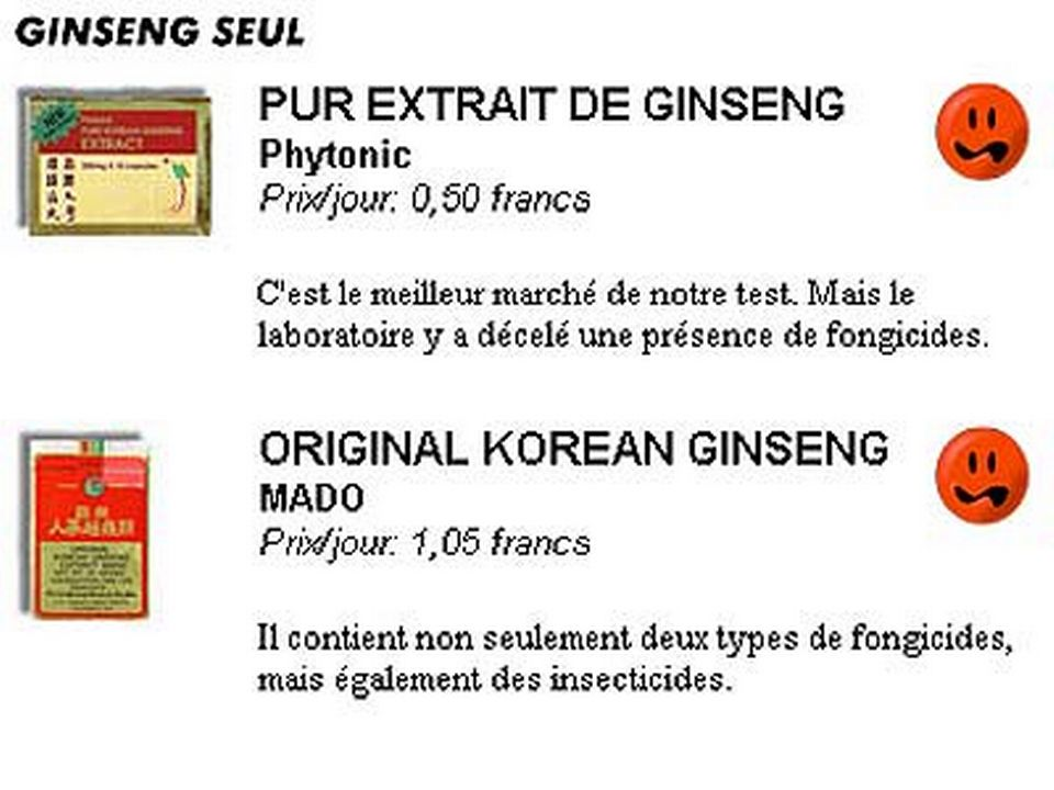 8. Ginseng seul