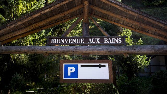 La faillite des Bains de Val-d'Illiez (VS) est définitive. [Jean-Christophe Bott - Keystone]