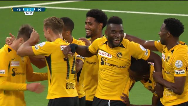 36e journée, Young Boys – Saint-Gall (3-1): YB termine idéalement sa saison [RTS]