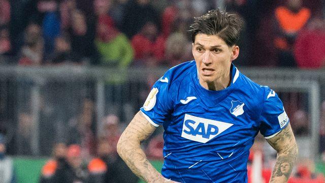 Steven Zuber va connaître son troisième club en Bundesliga. [Matthias Balk - Keystone]
