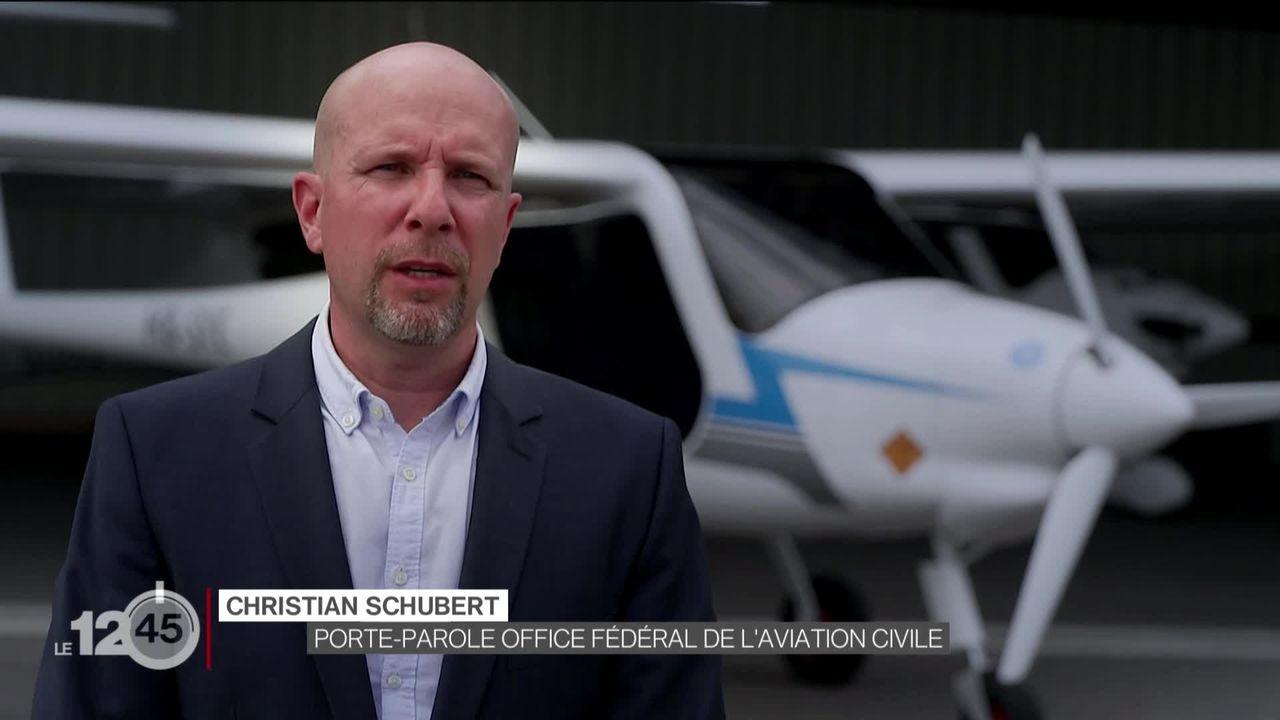 Petite révolution, le premier avion électrique au monde, certifié en Suisse [RTS]