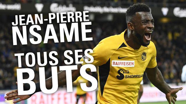 Les 32 buts de Jean-Pierre Nsame en Super League [RTS]