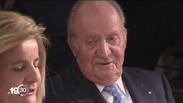 L'ex-roi Juan Carlos, soupçonné de corruption, quitte l'Espagne [RTS]