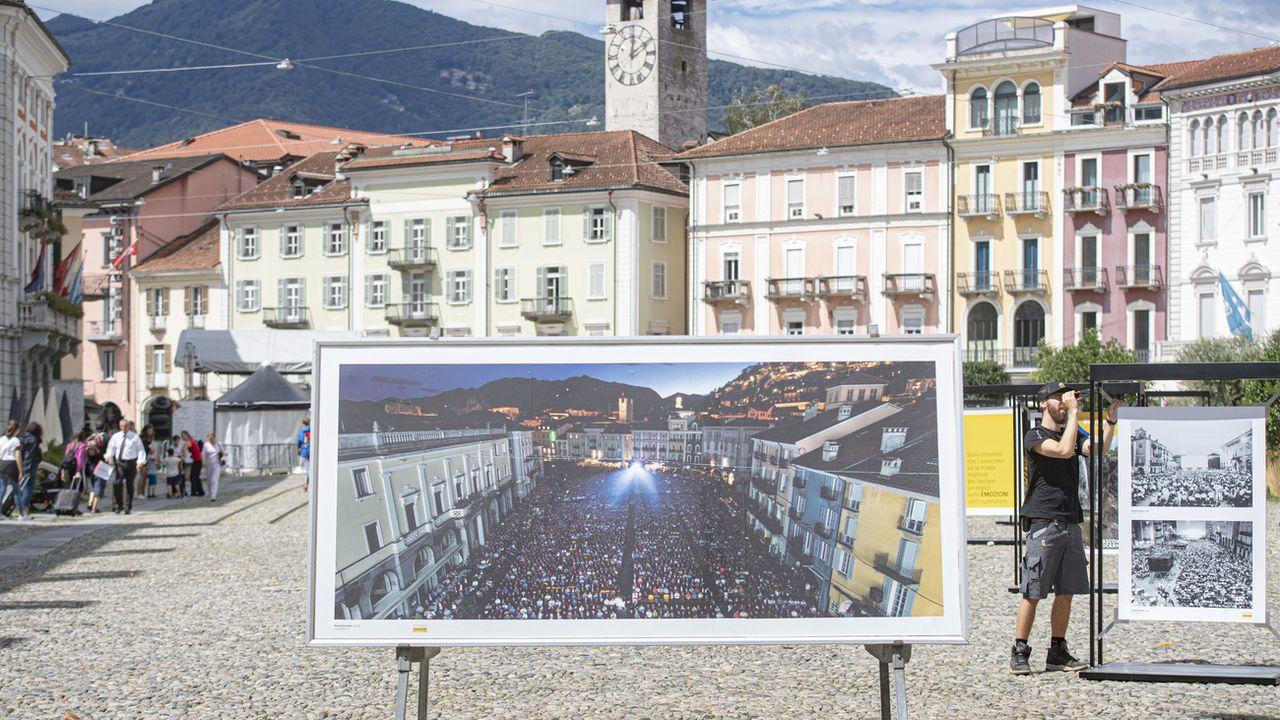 Le festival de Locarno lève le rideau ce soir sur sa 73ème édition mais de manière virtuelle. [Pablo Gianinazzi - Keystone]