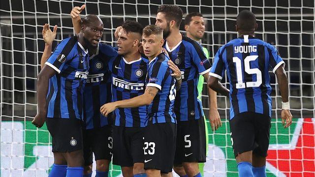 Les joueurs de l'Inter ont battu Getafe dans un match à format spécial. [Lars Baron - Keystone]