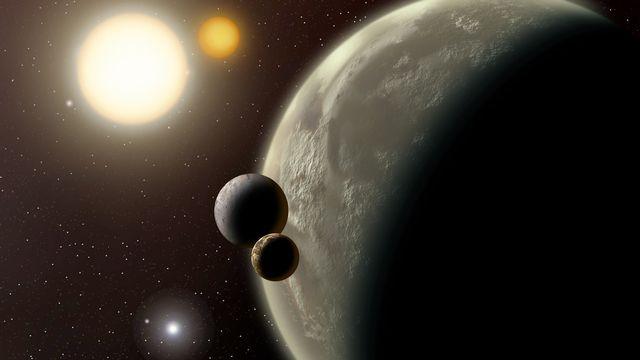 Les exoplanètes tournent autour d'une autre étoile que le soleil. [ DX  - Fotolia]