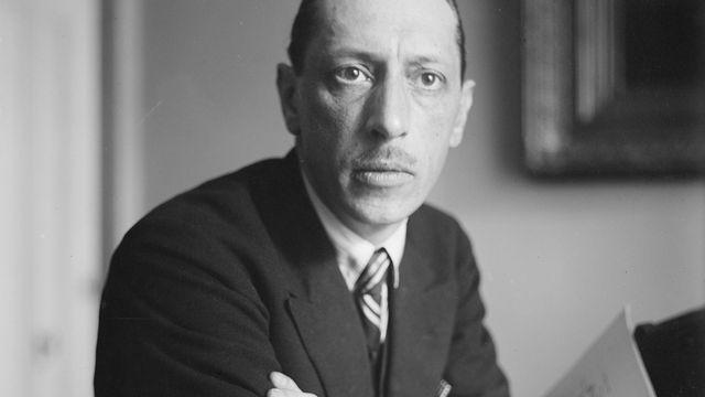 Portrait du compositeur russe Igor Stravinsky vers 1930. [DP]