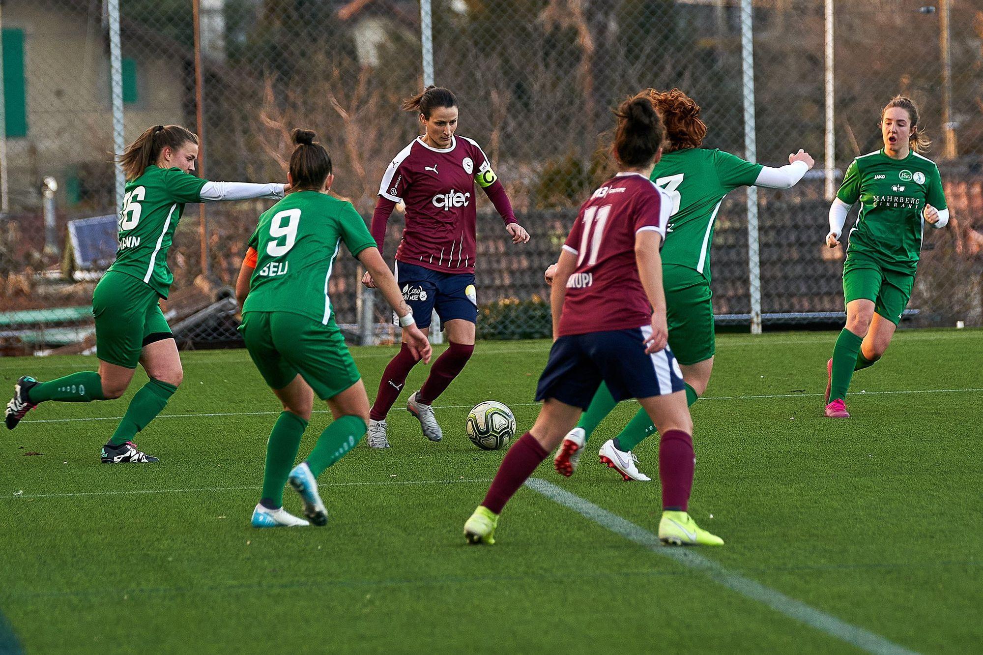 Women's Super League: la SSR va diffuser des matches