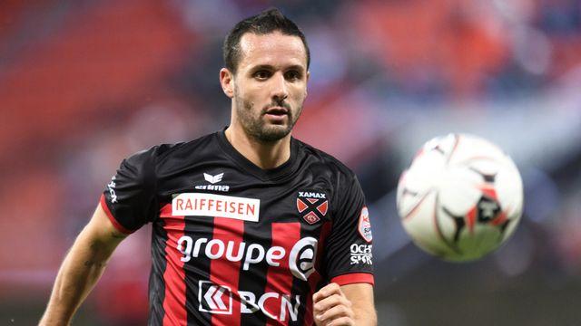 Nuzzolo a prolongé son contrat de deux ans avec Neuchâtel. [Laurent Gilieron - Keystone]