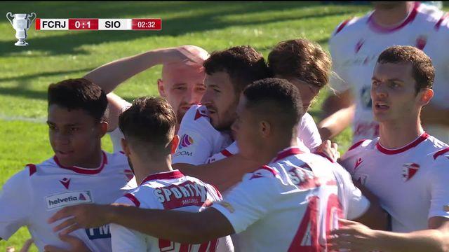 1-4, Rapperswil-Jonas - FC Sion (1-2): les Valaisans s'imposent difficilement contre les St-Gallois [RTS]