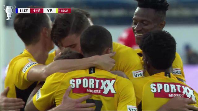 1-4, Lucerne - Young Boys (1-2): les Bernois s'imposent en prolongation grâce à Gaudino [RTS]