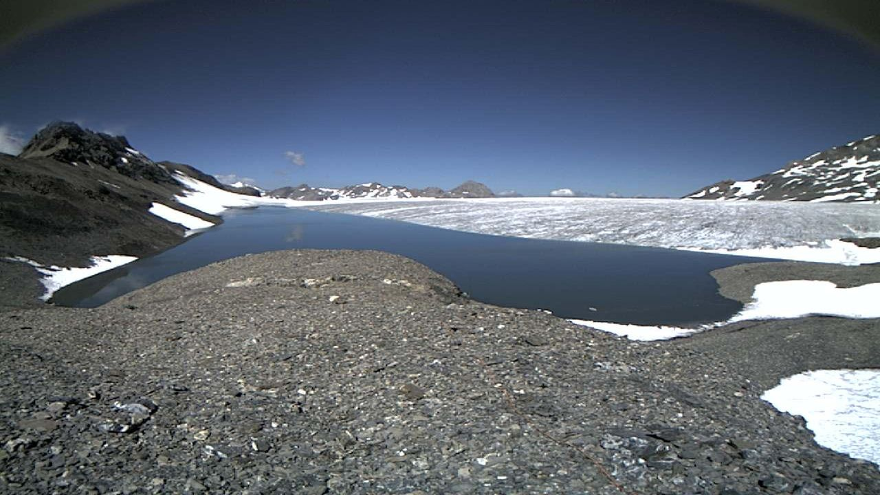 Le lac des Faverges photographié le 21 juillet 2015. [Geopraevent AG ]