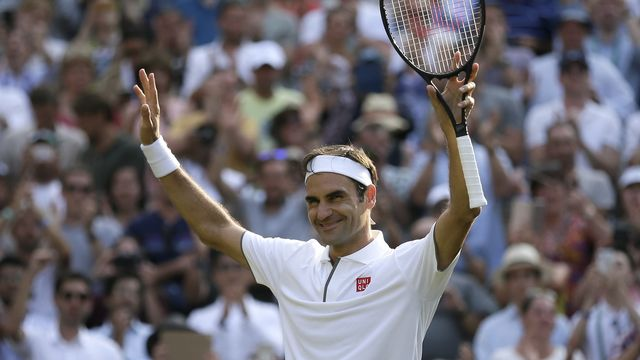Roger Federer, 39 ans ce samedi 8 août, espère revenir aussi fort qu'en 2017. [Tim Ireland - AP]