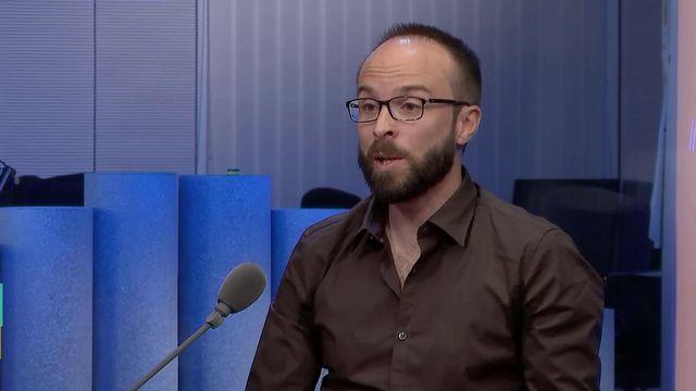 Christophe Simeon, historien et enseignant. [RTS - RTS]