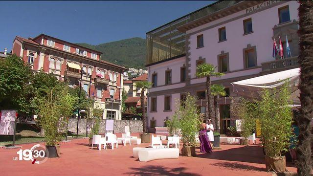 Face au Covid, le festival du film de Locarno a su se réinventer et a choisi d'aider l'industrie du cinéma. [RTS]