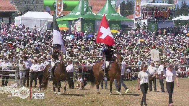 Franches-Montagnes: marché-concours annulé, craintes pour l'avenir [RTS]