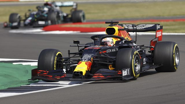 Max Verstappen a surpris les Mercedes. [Andrew Boyers - Keystone]
