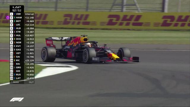 GP de Grande-Bretagne (#5): Verstappen (NED) s'impose devant Hamilton (GBR) et Bottas (FIN) [RTS]