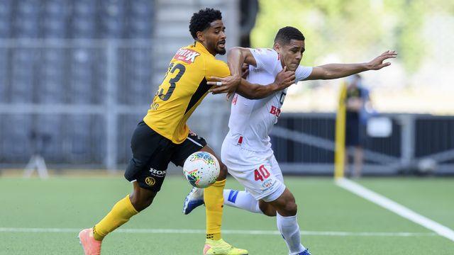 Le FC Sion n'ira pas en finale de la Coupe de Suisse de football après sa défaite contre Young Boys. [Anthony Anex - Keystone]