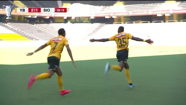 1-2, Young Boys - Sion (3-1): Young Boys jouera la finale [RTS]
