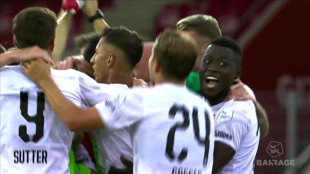 Barrage retour, Thoune - Vaduz (4-3): Vaduz remonte en Super League, Thoune coule ! [RTS]