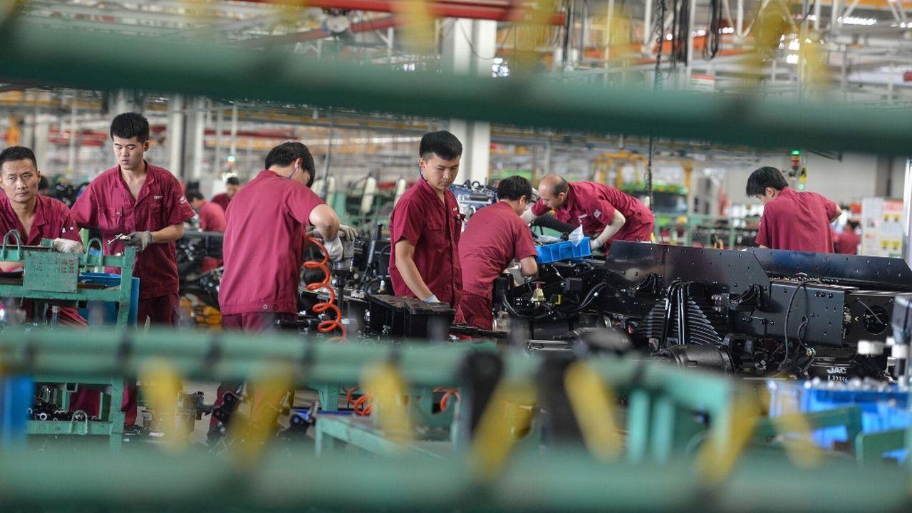 """En crise, le """"made in China"""" doit se renouveler. [STR - AFP]"""