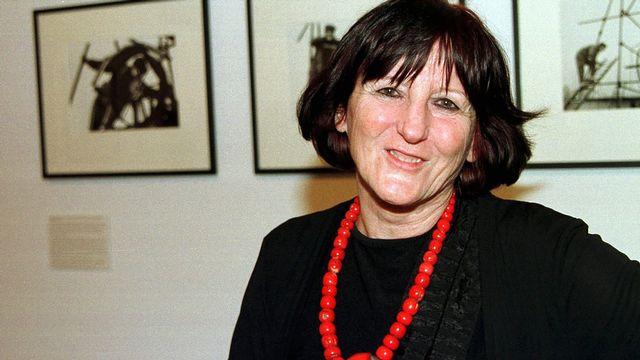 La photographe Monique Jacot en 1999. [Markus Stuecklin - Keystone]