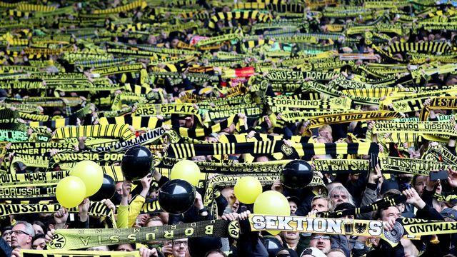 Le retour du public dans les stades en Allemagne n'est pas pour tout de suite. [Friedmann Vogel - Keystone]