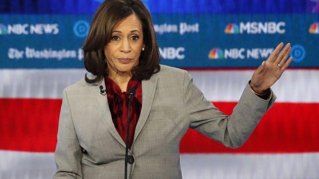 La sénatrice Kamala Harris a été choisi par Joe Biden comme colistière dans la course à la présidentielle. [John Bazemore - AP Photo]