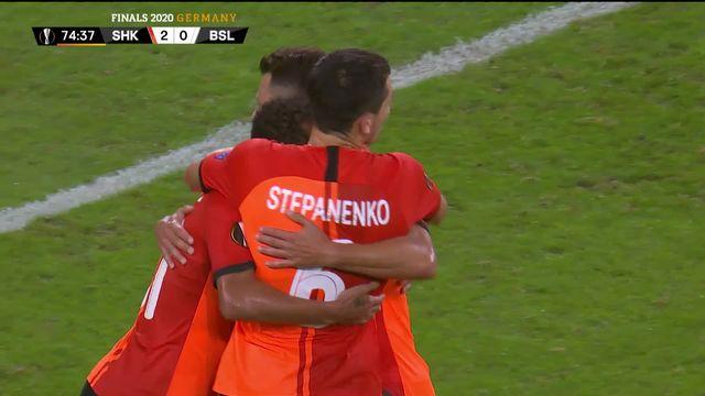 1-4 de finale, Shaktar Donetsk - Bâle  (4-1): les buts de la rencontre [RTS]