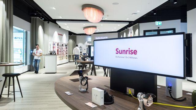 L'opération de rachat de Sunrise pourrait être finalisée en fin d'année. [Ennio Leanza - Keystone]