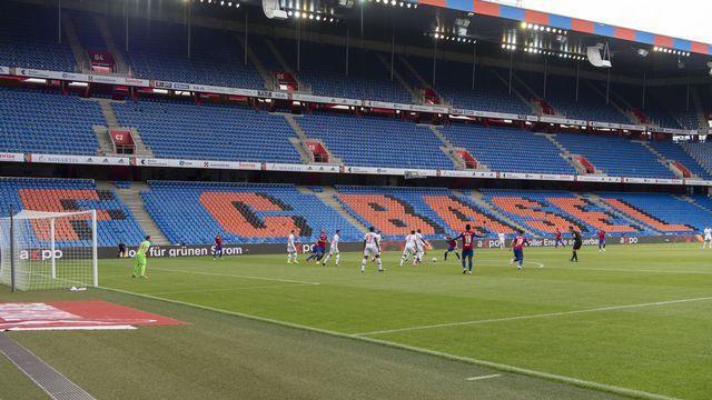 Les stades en Suisse pourront accueillir plus de 1000 spectateurs dès le 1er octobre. [Georgios Kefalas - Keystone]